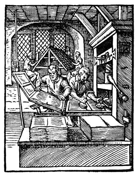 Printers at work